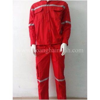 Quần áo rờivải Kaki màu đỏ