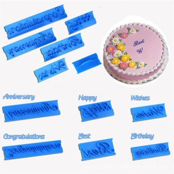 Silicone Cake Chocolate Baking Mould 100% Handmade Soap Mold Sugercraft - intl