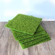 Simulation Of Small Lawn Micro-landscape Green Grass Landscape,Size:15 X 15cm - intl