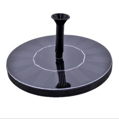 Solar Power Fountain Water Pump Floating Panel Pool Garden Pond Watering - intl