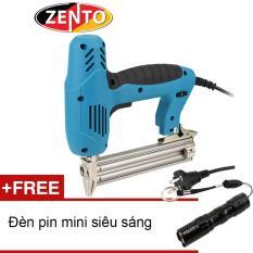 Súng bắn đinh thẳng dùng điện Zento ZE-F30 (Tặng đèn pin mini Zento)