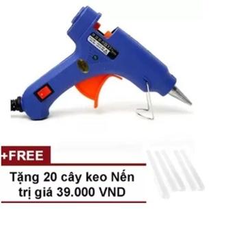Súng bắn keo Nến silicon model 2017 (Xanh) + Tặng 20 cây keo Silicon nến - EO902HLAA4I5EGVNAMZ-8257687,224_EO902HLAA4I5EGVNAMZ-8257687,107000,lazada.vn,Sung-ban-keo-Nen-silicon-model-2017-Xanh-Tang-20-cay-keo-Silicon-nen-224_EO902HLAA4I5EGVNAMZ-8257687,Súng bắn keo Nến silicon model 2017 (Xanh) + Tặng 20 cây keo Silicon nến