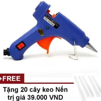 Súng bắn keo Nến silicon TTP (Xanh) + Tặng 20 cây keo Silicon nến - 8190182 , HO736HLAA5POIUVNAMZ-10485224 , 224_HO736HLAA5POIUVNAMZ-10485224 , 85000 , Sung-ban-keo-Nen-silicon-TTP-Xanh-Tang-20-cay-keo-Silicon-nen-224_HO736HLAA5POIUVNAMZ-10485224 , lazada.vn , Súng bắn keo Nến silicon TTP (Xanh) + Tặng 20 cây keo Sil