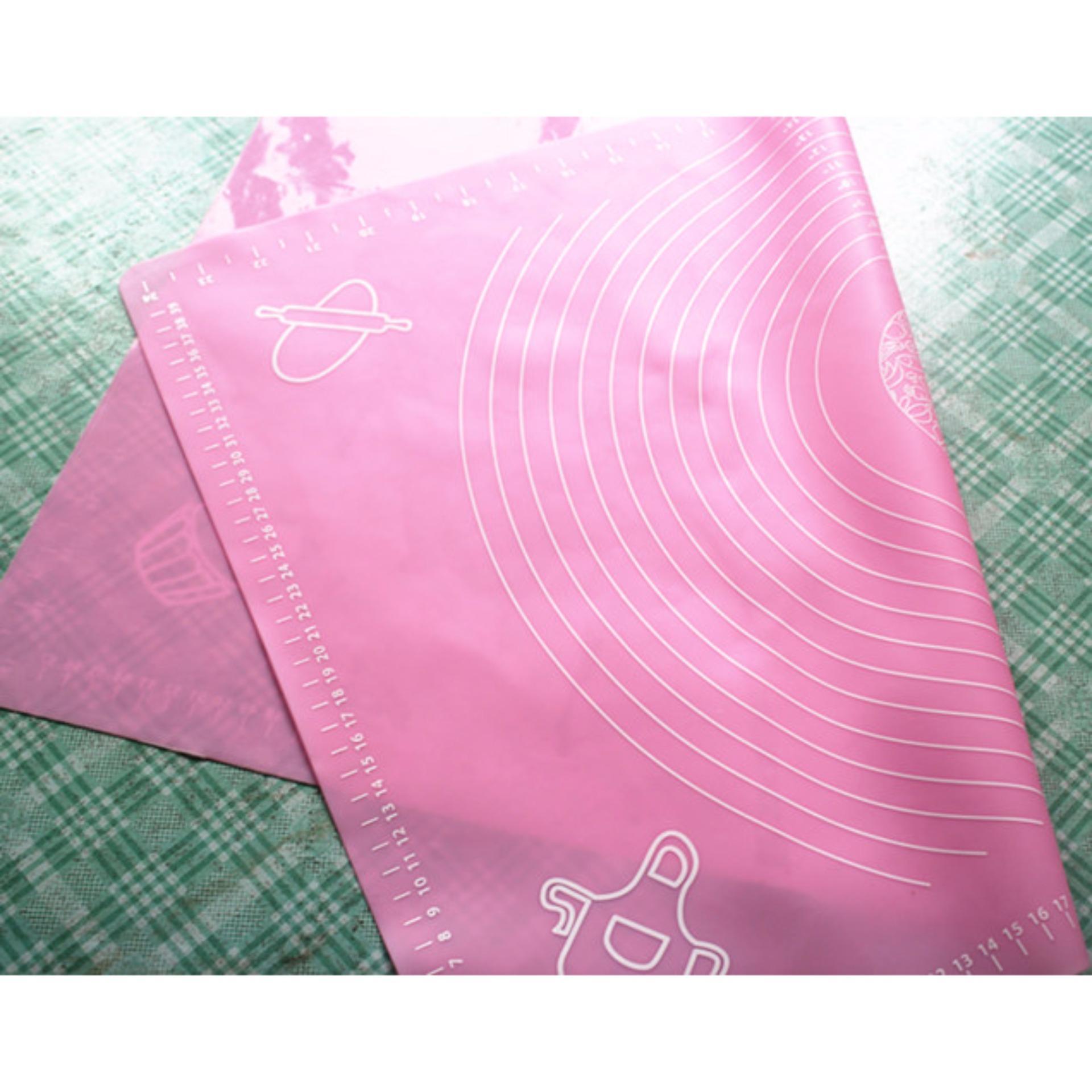 Tấm lót nhào bột silicon 40x50cm