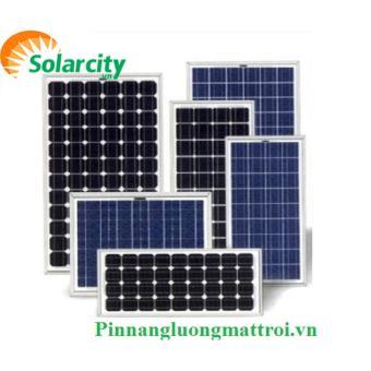 Tấm pin năng lượng mặt trời 100w Polycrystalline