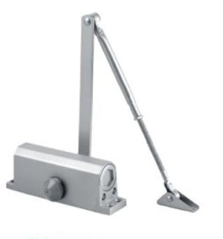 Tay đẩy hơi (Tay co thủy lực) cho trọng lượng cửa từ 15 đến 65kg