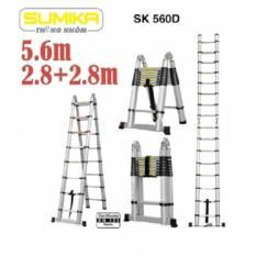 Thang nhôm rút đôi Sumika SK 560D (5,6m)