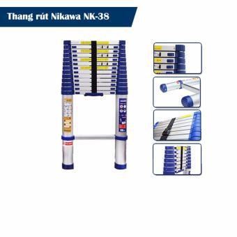Thang nhôm rút đơn Nikawa NK-38 Tặng bộ dụng cụ Nikawa NK-BS008