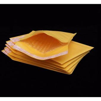 Thùng x 100 túi xi măng vàng lót bóng khí kích thước 15x18cm