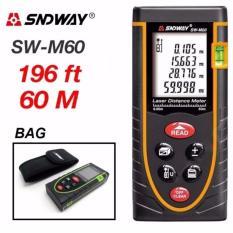 Thước đo khoảng cách bằng tia laser SNDWAY SW-M60 phạm vi đo 60m