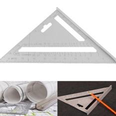 Thước tam giác hợp kim nhôm 18 cm