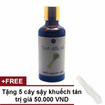 Tinh dầu cây sả Java 50ml Ngọc Tuyết tặng 5 cây sậy khuếch tán tinh dầu