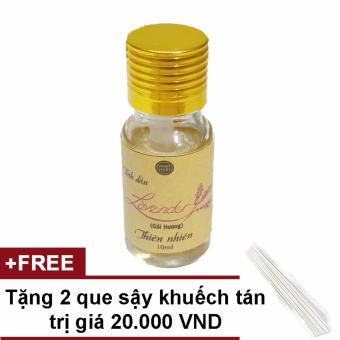 Tinh dầu Lavender nguyên chất Ngọc Tuyết 10ml tặng 2 cây sậy khuếch tán tinh dầu