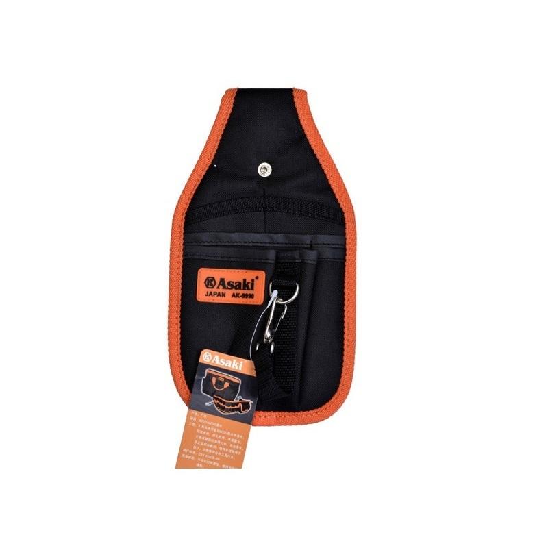 Túi đeo đồ nghề 6 ngăn Asaki AK-9990 (Cam)
