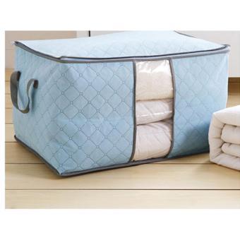 Túi vải không dệt da đa năng ( xanh biển )