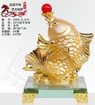 Tượng cá chép phong thủy bằng ngọc