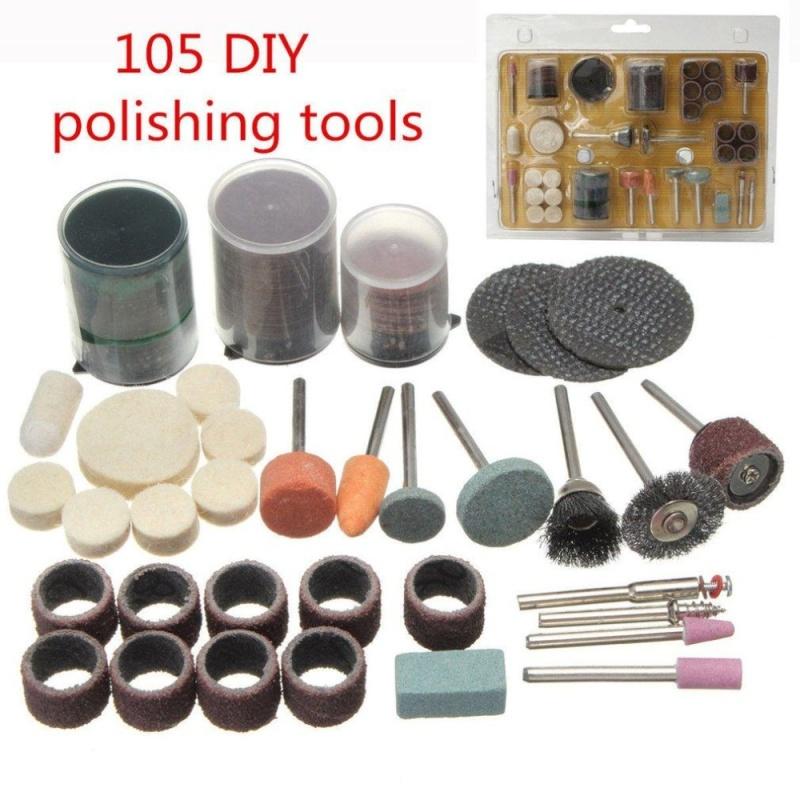 UINN 105pcs Grinding Tools Bits Set Electric DIY Polishing Engraving Cutting Use multi color - intl