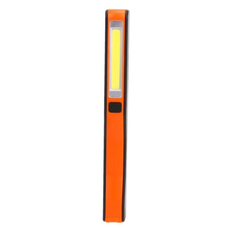 Bảng giá Mua USB Charging Mini LED Flashlight COB Work Light 180 degrees Rechargeable(Orange) - intl