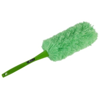 Useful Coming Soft Magic Feather Duster Fashion Sale Anti Static Car Home Window Green - intl