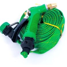 Vòi phun xịt nước rửa xe tưới cây đầu đồng dây 10m HQ206167