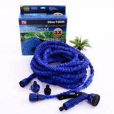 Vòi xịt rửa giãn nở cao cấp loại 30m(Xanh dương nhạt)