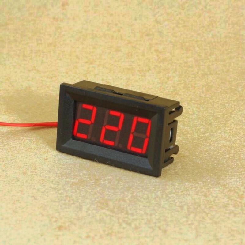 Bảng giá Mua Vôn Kế Xoay Chiều 0.56 inch-30-500 VAC- Led Đỏ
