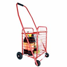 Xe kéo đi chợ đa năng Size to (Màu đỏ)