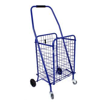 Xe kéo đi chợ đa năng Size to (Màu xanh)