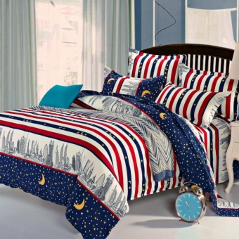 Yika Duvet Cover with Pillow Case Quilt Cover Bedding SetSize:Super King Quilt Cover - intl