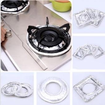 YingWei Thicker Aluminum Foil Square Stove Burner Covers (Circular) - intl