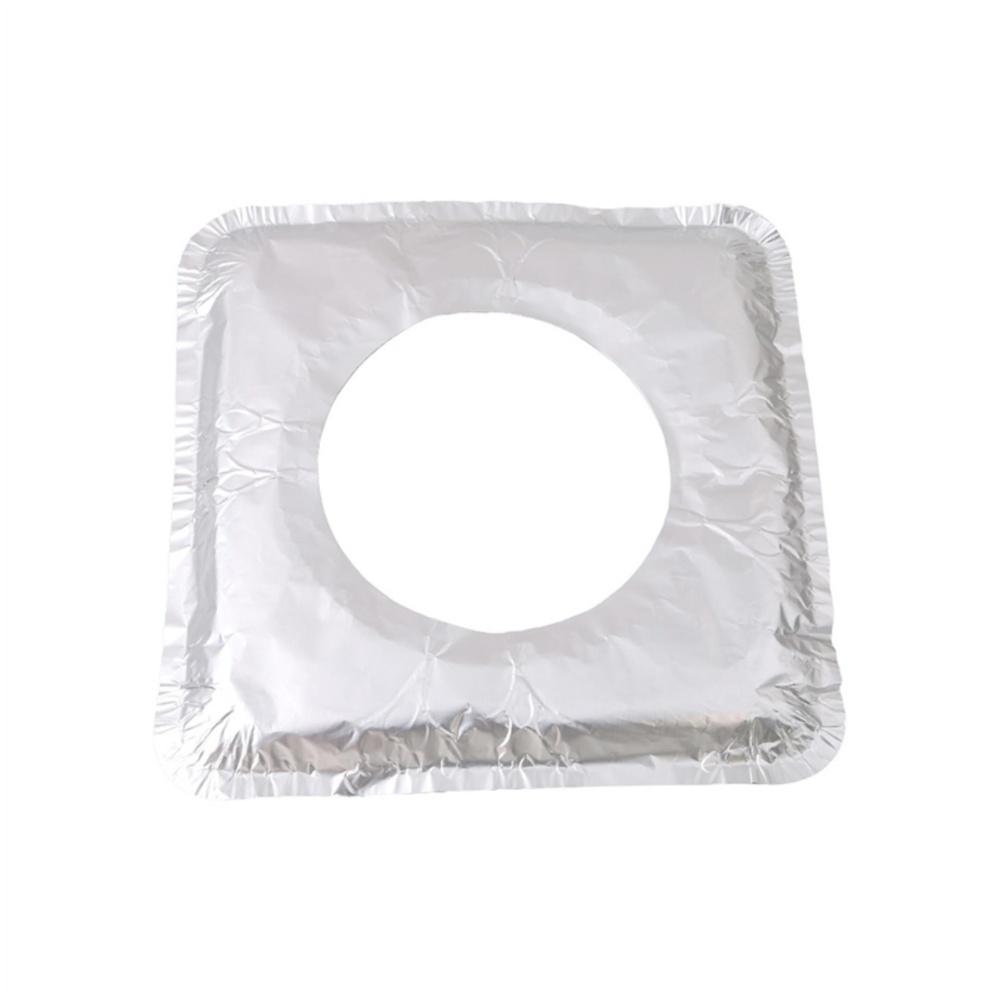 YingWei Thicker Aluminum Foil Square Stove Burner Covers (Square) - intl