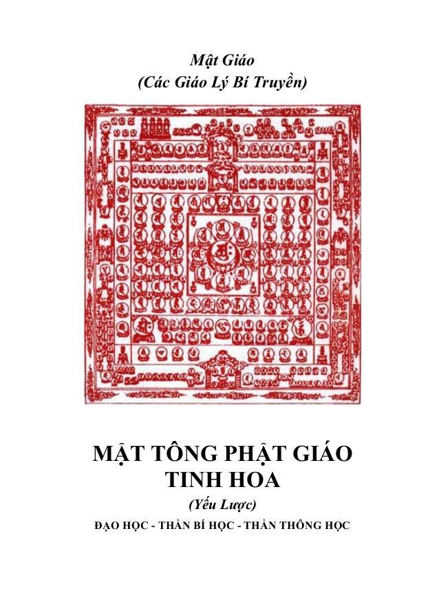 Mật Tông Phật Giáo Tinh Hoa Yếu Lược