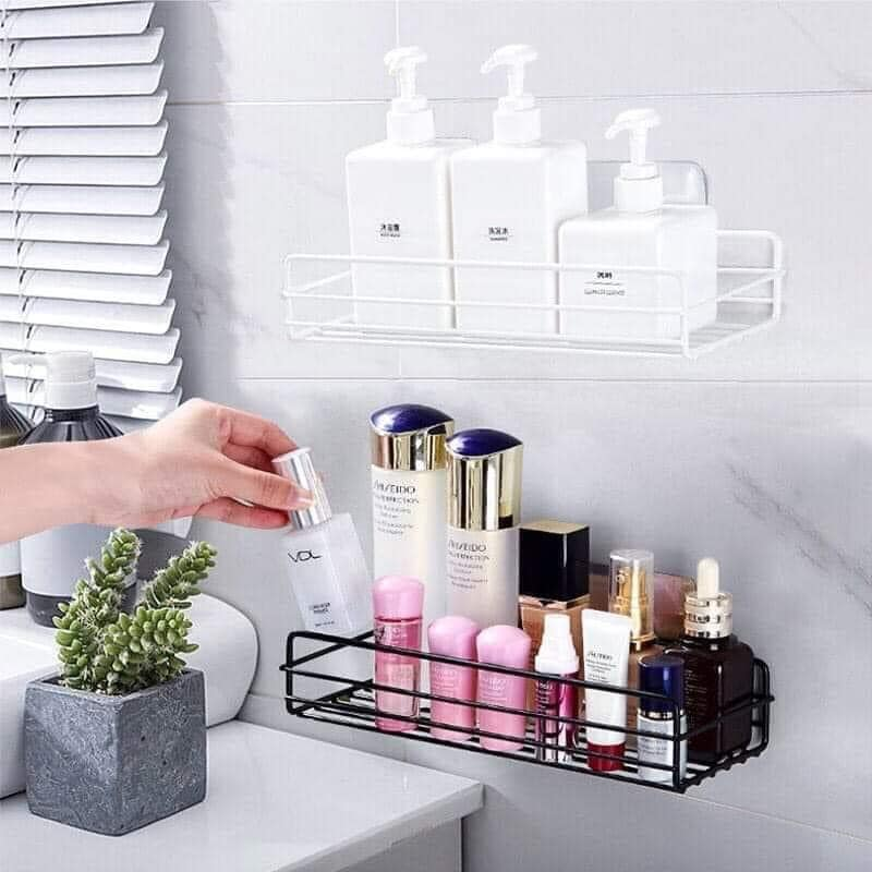 ⭐Kệ sắt dán tường đa năng (loại hình chữ nhật) siêu chắc: Mua bán trực  tuyến Kệ phòng tắm với giá rẻ | Lazada.vn