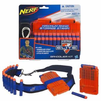 02 Băng đạn đồ chơi loại 6 viên NERF N-STRIKE ELITE BANDOLIER KIT