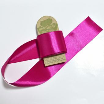3m ruy băng lụa 4cm hồng cẩm RB84
