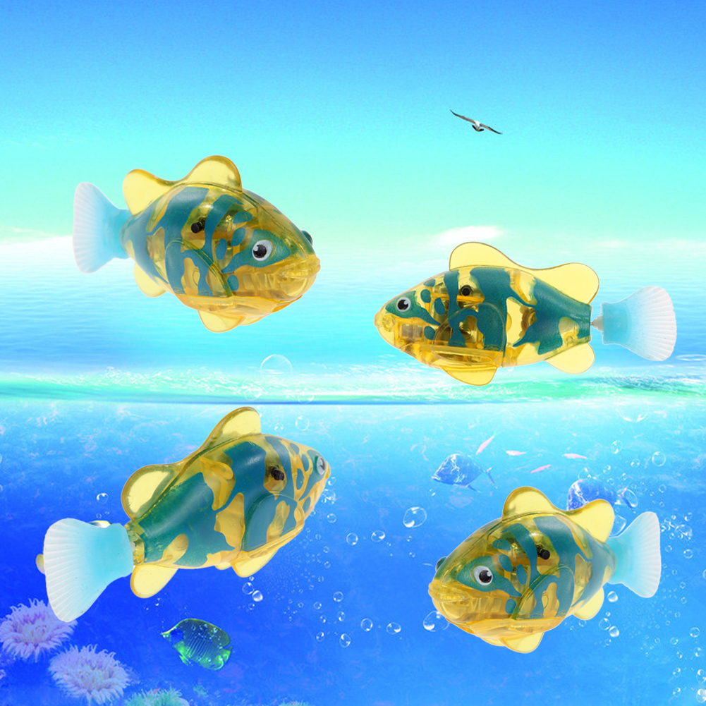 Activated Charger Powered Robo Fish Toy 2# (Intl) ...