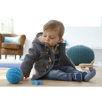 Baby Boy Fleece Warm Hooded Coat (Grey) - intl - 4