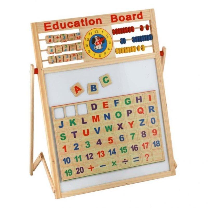 Nơi bán Bảng học 2 mặt viết phấn, viết bút dạ cho Trẻ mẫu giáo và lớp 1 - Bảng chữ A