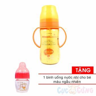 Bình sữa Wesser công nghệ kháng khuẩn Hàn Quốc 260ml cổ rông có ốnghút TẶNG 1 bình uống nước nhí màu ngẫu nhiên - 8836777 , WE602TBAA6XBFDVNAMZ-12705570 , 224_WE602TBAA6XBFDVNAMZ-12705570 , 304000 , Binh-sua-Wesser-cong-nghe-khang-khuan-Han-Quoc-260ml-co-rong-co-onghut-TANG-1-binh-uong-nuoc-nhi-mau-ngau-nhien-224_WE602TBAA6XBFDVNAMZ-12705570 , lazada.vn , Bình s