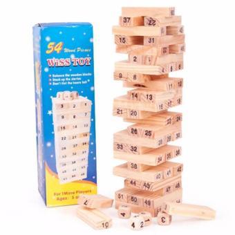 Bộ 02 đồ chơi rút gỗ Wiss Toy 54 thanh kèm 4 con súc sắc cho béthông minh - 8346232 , NO007TBAA2WTLBVNAMZ-5029574 , 224_NO007TBAA2WTLBVNAMZ-5029574 , 120000 , Bo-02-do-choi-rut-go-Wiss-Toy-54-thanh-kem-4-con-suc-sac-cho-bethong-minh-224_NO007TBAA2WTLBVNAMZ-5029574 , lazada.vn , Bộ 02 đồ chơi rút gỗ Wiss Toy 54 thanh kèm 4 co