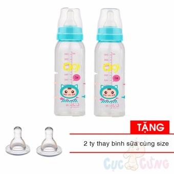 Bộ 2 Bình sữa AGI Premium cổ thường 250ml TẶNG 2 ty cùng size - 8027538 , AG653TBAA4KA0IVNAMZ-8381170 , 224_AG653TBAA4KA0IVNAMZ-8381170 , 159000 , Bo-2-Binh-sua-AGI-Premium-co-thuong-250ml-TANG-2-ty-cung-size-224_AG653TBAA4KA0IVNAMZ-8381170 , lazada.vn , Bộ 2 Bình sữa AGI Premium cổ thường 250ml TẶNG 2 ty cùng si