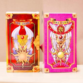 Cách mua Bộ 2 Hộp Bài Sakura Và Clow – 56 Lá – Cardcaptor Sakura