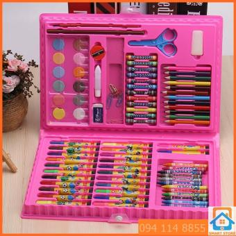 Bộ 2 Hộp bút chì màu 86 món