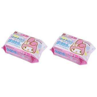 Bộ 2 hộp giấy ướt nước tinh khiết 99.9% LEC My Melody SS233