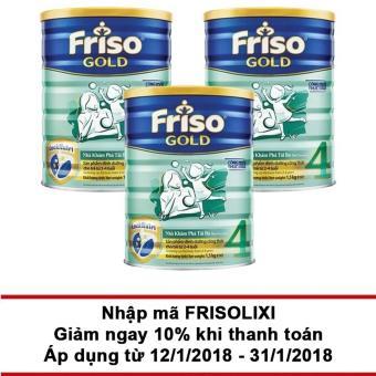 Bộ 3 hộp FRISO GOLD 4 1500g