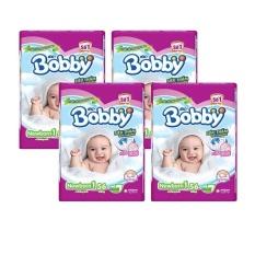 Bộ 4 gói Tã Giấy Bobby Fresh Newborn 1-56.