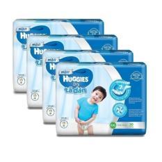 Bộ 4 tã dán Huggies Dry Jumbo XXL30