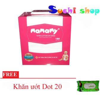 Bộ 5 Hộp Khăn Cotton Khô Mamamy 180 Tờ (tặng 05 gói khăn ướt Dot 20) - 8257062 , MA126TBAA2MMU3VNAMZ-4502170 , 224_MA126TBAA2MMU3VNAMZ-4502170 , 295000 , Bo-5-Hop-Khan-Cotton-Kho-Mamamy-180-To-tang-05-goi-khan-uot-Dot-20-224_MA126TBAA2MMU3VNAMZ-4502170 , lazada.vn , Bộ 5 Hộp Khăn Cotton Khô Mamamy 180 Tờ (tặng 05 gói kh
