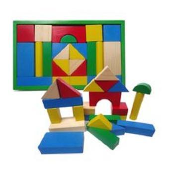 Bộ đồ chơi bằng gỗ Xếp hình 24 chi tiết DC11