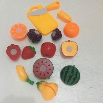 Bộ đồ chơi cắt ghép hoa quả 16 chi tiết